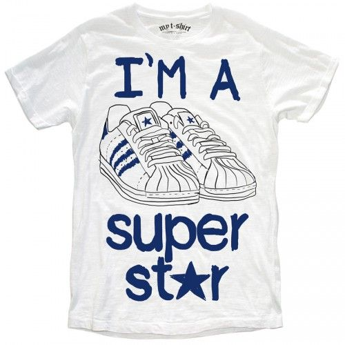 "T-SHIRT UOMO ""SUPER STAR"""
