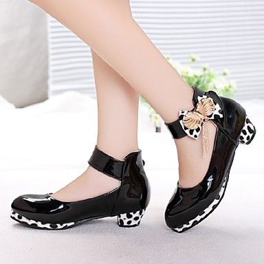 Girl's Shoes Heels Chunky Heel Faux Leather Pumps/Heels Shoes More Colors available 2016 – $34.99