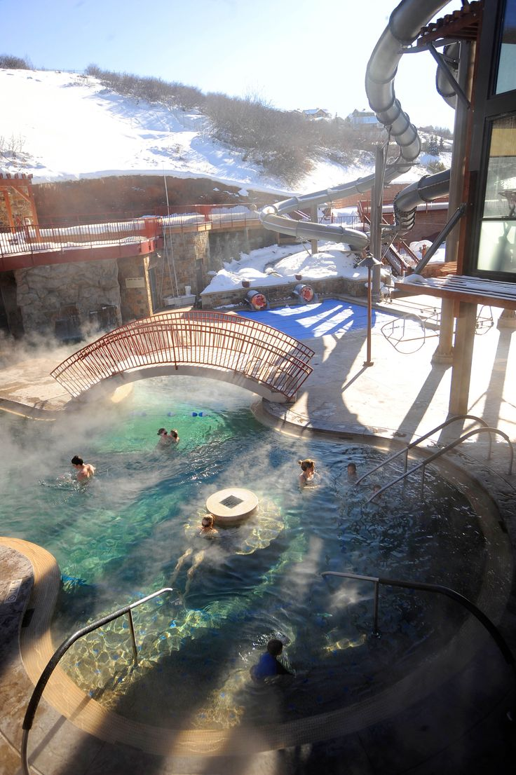 Old Town Hot Springs in Steamboat Springs, Colorado