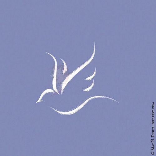 Symbol of the Holy Spirit now available here https://goo.gl/WcfgYF #symbol #Christian #HolySpirit #dove #church