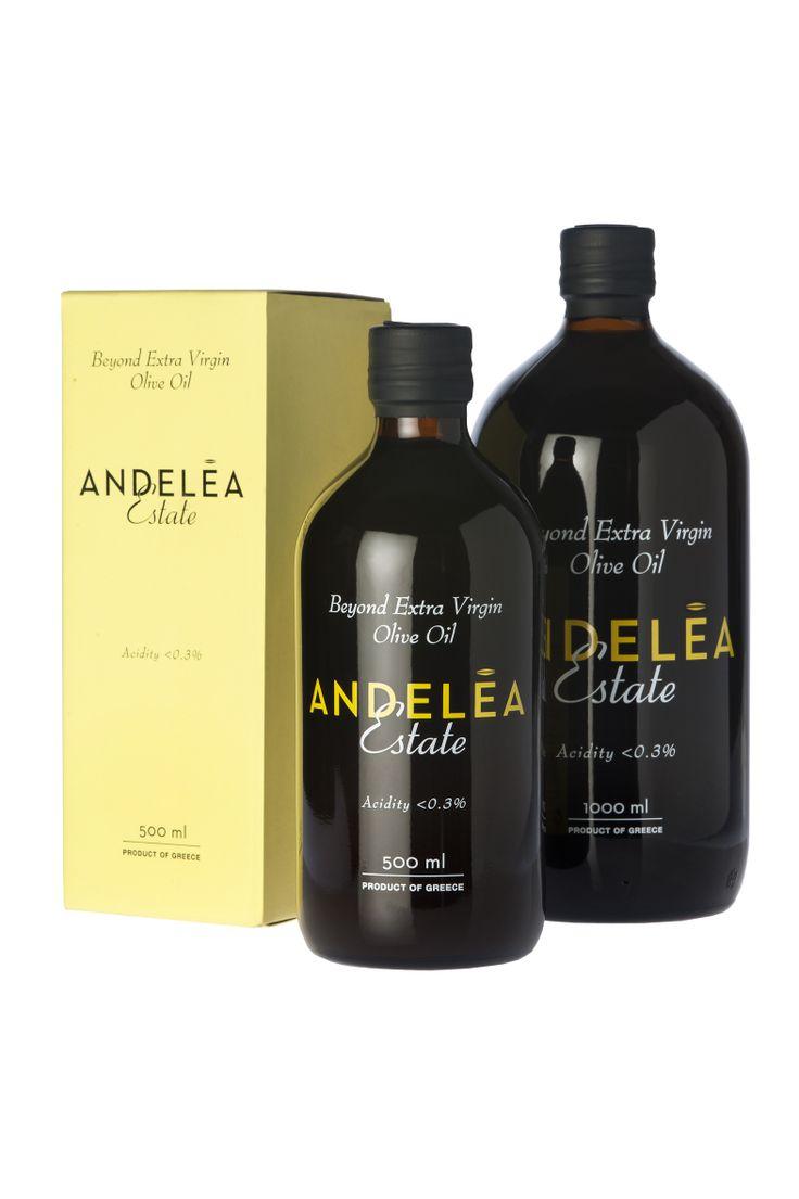 Premium Packaging - Andelea Estate Premium Extra Virgin Olive Oil