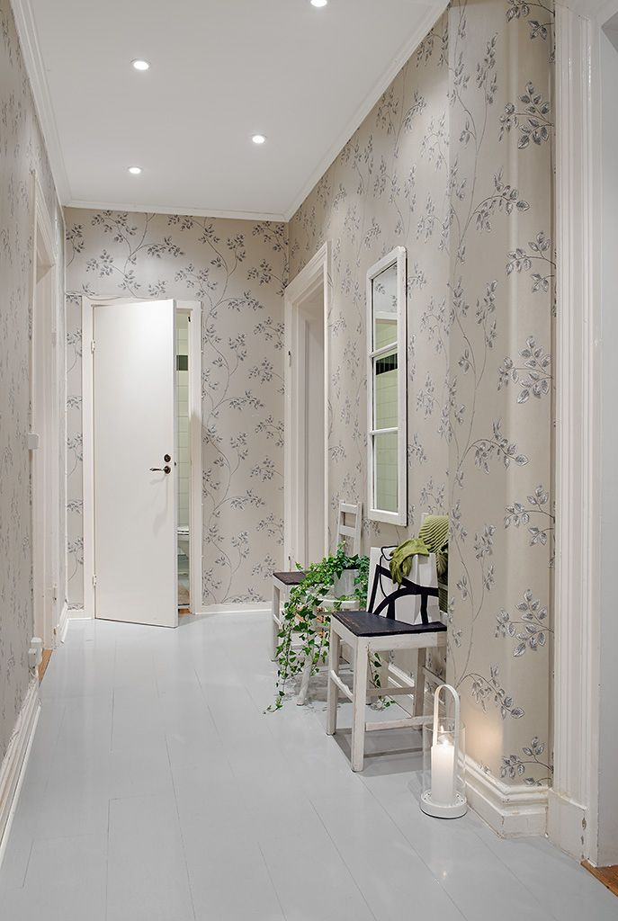 13 best decorating ideas images on pinterest wallpaper - How to wallpaper stairs and landing ...