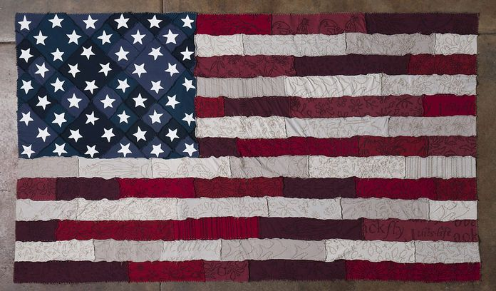 61 Best Images About American Flag Quilt On Pinterest