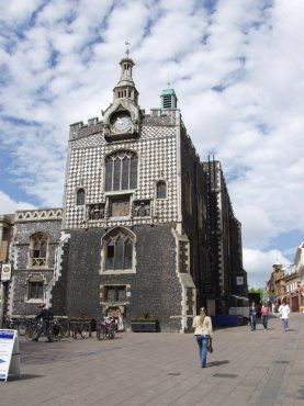 Photograph of the Guildhall, Norwich, Norfolk, England