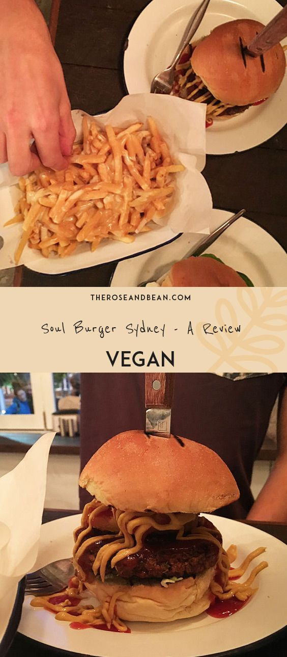 Soul Burger in Sydney is a plant-based burger joint. Serving a delicious array of burgers and fries, check out our review.