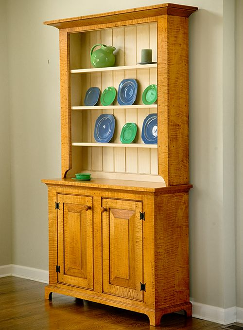 Hand Crafted Hand Planed Hutches And Buffets Made In North Carolina. Choose  Solid Cherry,. HutchSolid WoodDisplay IdeasFurniture ...