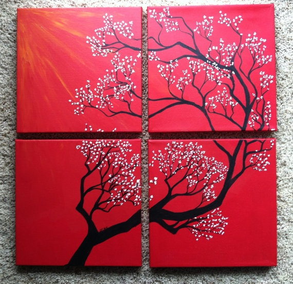 1000 ideas about multiple canvas art on pinterest for Canvas to paint on