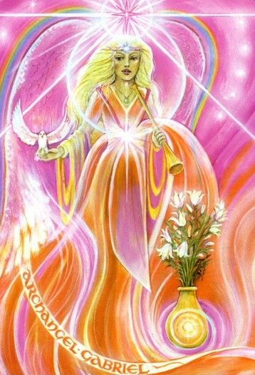 The Star (Return) by Pamela Matthews (Aura-Soma New Aeon Tarot)