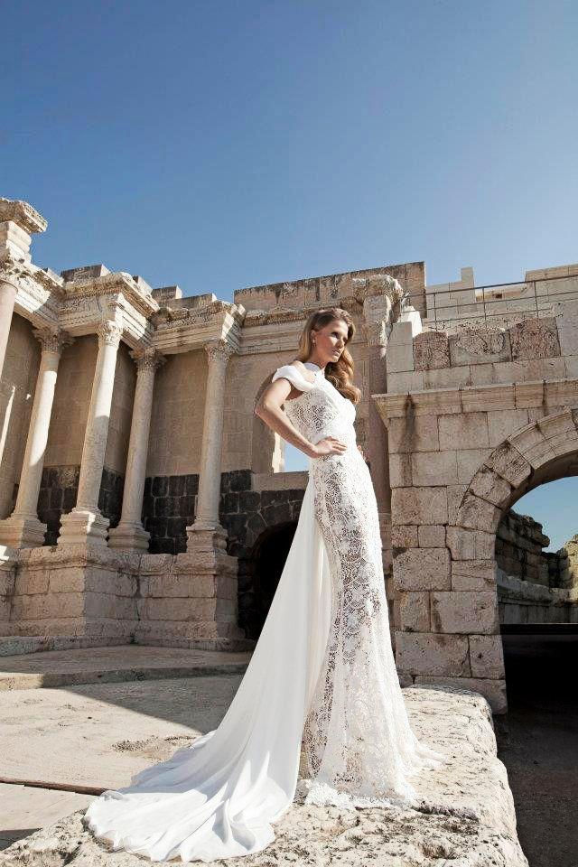 Шикарные свадебные платья Dany Mizrachi Haute Couture 2012