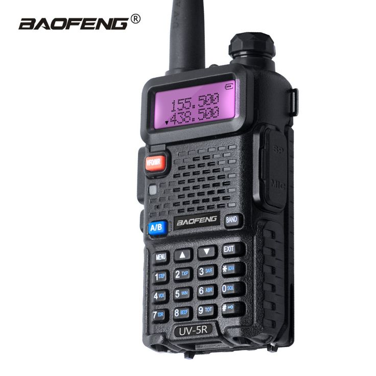 Baofeng UV-5R Walkie Talkie Dual Band UHF VHF UV5R CB Radio FM 128CH VOX Ham Radio Long Distance Transceiver for Hunting Radio