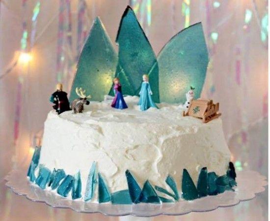 Disney Frozen Cake Tutorial