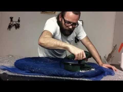 Slightly wierd felting tutorial - very cool! MISZEK.POLSKA' cat-pod felting tutorial | PÓŁNOC 1 | Music used in this video: 1) Cylinder Six by Chris Zabriskie is licensed under a Attribution License 2) ...