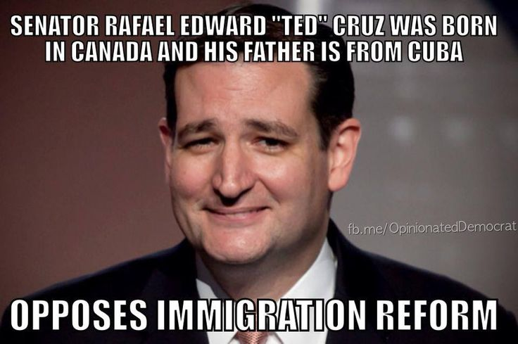 Ted Cruz, RWNJ and hypocritical asshat #UniteBlue