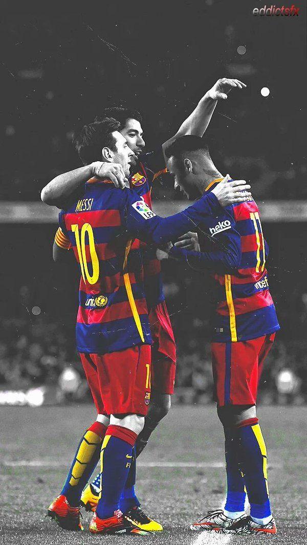 Lionel Messi, Neymar Jr. & Luis Suarez #Barcelona #FCB #MSN by Eddictsfx