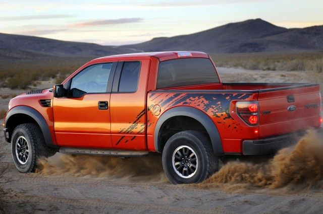 2010 Ford Raptor Wallpaper HD