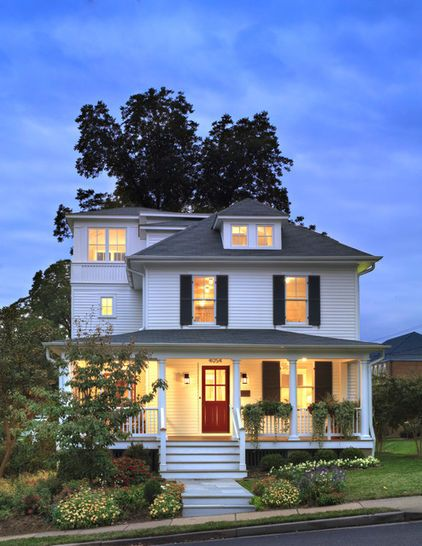 1000 images about i love the american foursquare on for Simple american house