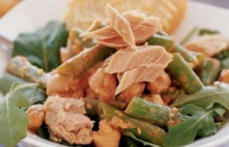 Tuna-Garbanzo Salad, Irish Recipe, Irish Food