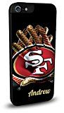 Custom NFL San Francisco 49ers Personalized Cell Phone Case for iPhone 6 Plus (5.5)