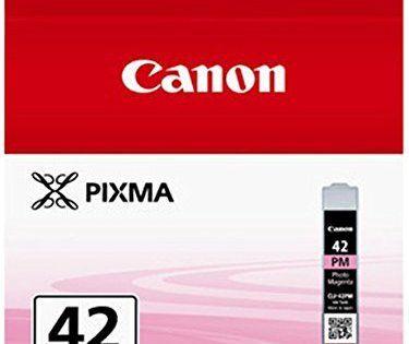 Canon Cli42pm Cartouche d'encre Magenta: Cartouche Jet d'encre CANON Magenta Clair CLI-42 PMPhoto Cet article Canon Cli42pm Cartouche…