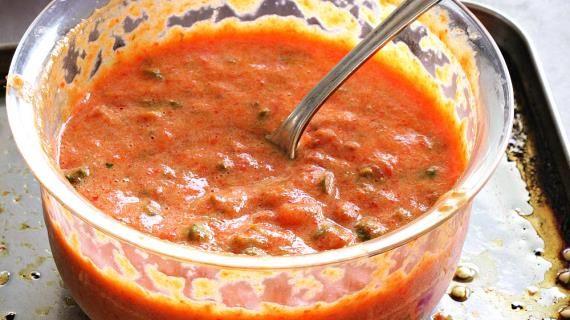 Соус изкрасного перца. Пошаговый рецепт с фото на Gastronom.ru
