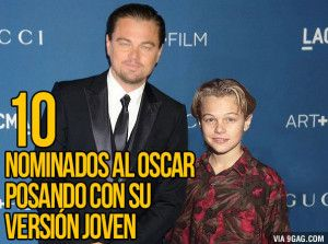 Galería: 10 Nominados al Oscar 2014 con su versión joven al lado