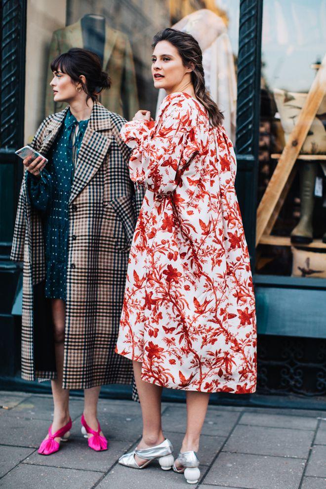 Street style à la Fashion Week automne-hiver 2018-2019 de Londres ... 5e74c3d151