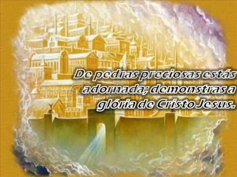 Harpa Cristã - Cidade Santa Jerusalém - YouTube
