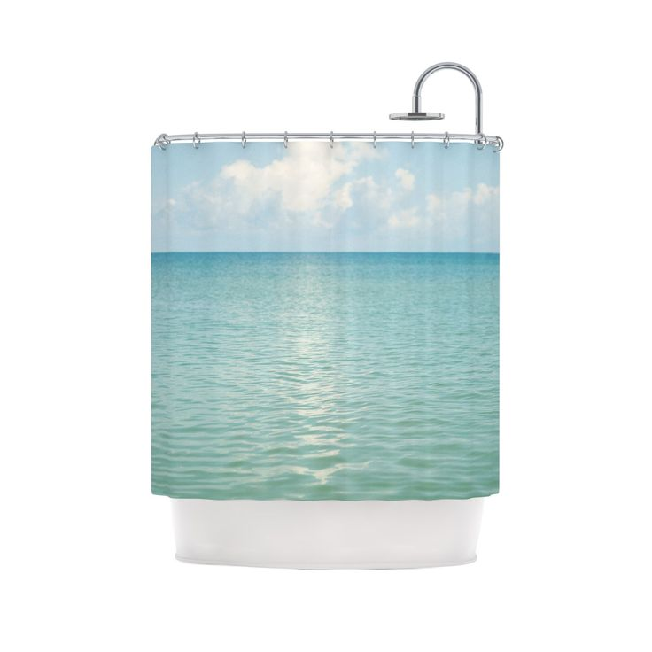 Beachy Shower Curtain | Dotandbo.com
