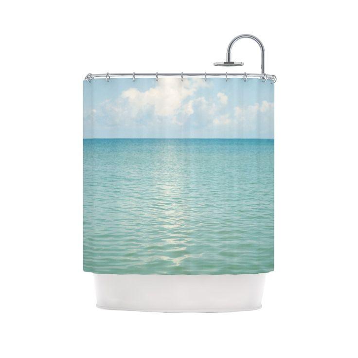 Beachy Shower Curtain | dotandbo.com