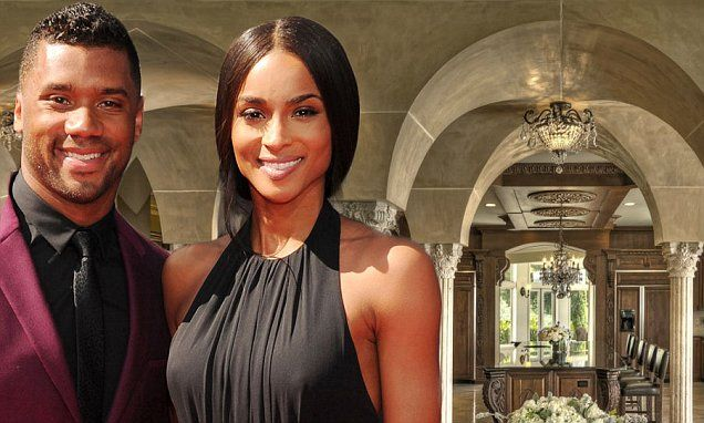 Ciara's boyfriend Russell Wilson buys seven-bedroom lakefront mansion