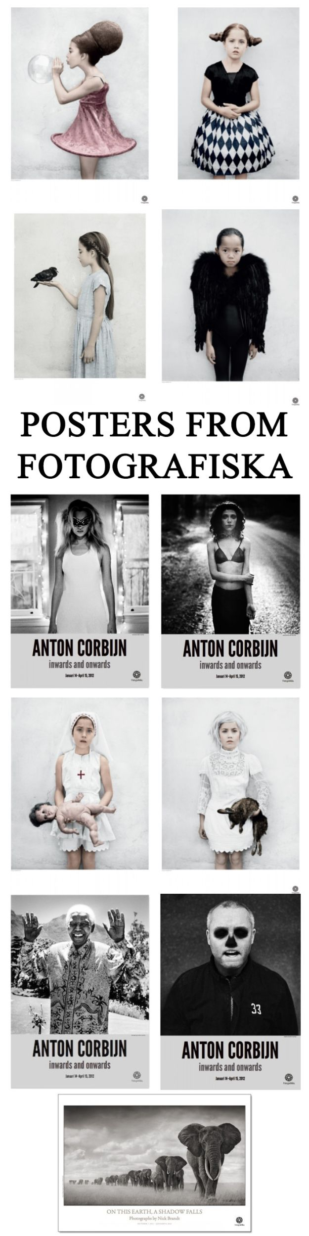 Pretty posters from Fotografiska on Nordicperspective.com