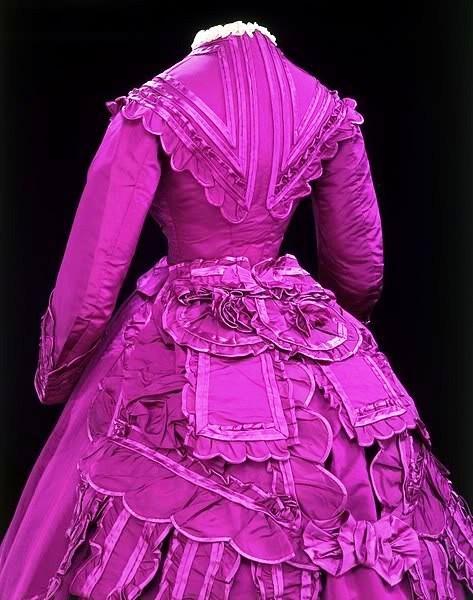 1869-1870 Silk--so vivid!