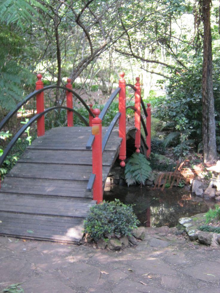 Japanese Bridge, Botanic  Gardens, Tamborine Mt