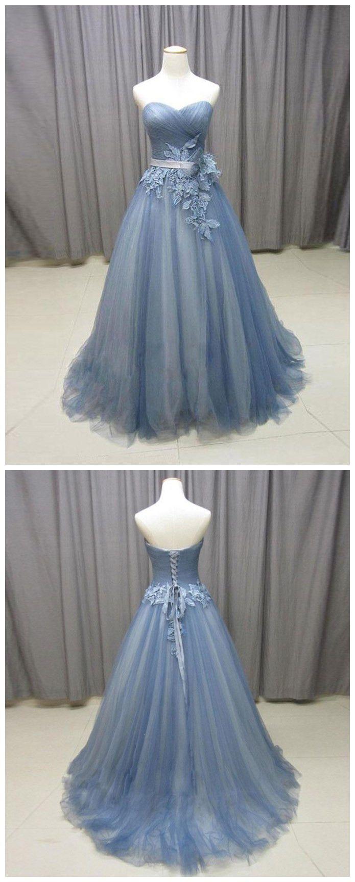 prom dresses long,prom dresses strapless,prom dresses a line,prom dresses modest,prom dresses 2018,prom dresses tulle,prom dresses applique #sweeheart #blue #cheap #2018