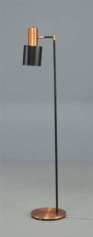 Vare: 2972163Gulvlampe / standerlampe, kobber, Fog og Mørup, Jo Hammerborg.