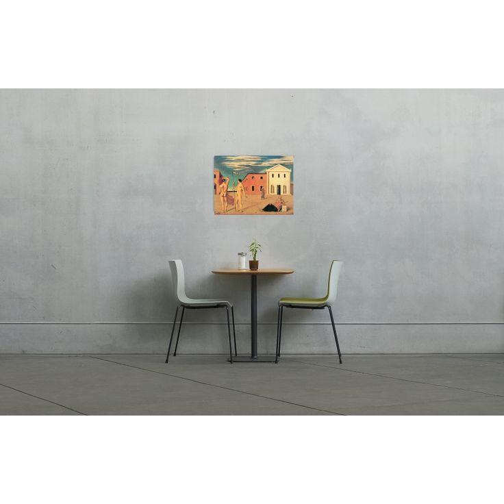 DE CHIRICO - Departure of the Argonauts 79x58 cm #artprints #interior #design #art #prints  Scopri Descrizione e Prezzo http://www.artopweb.com/EC21797