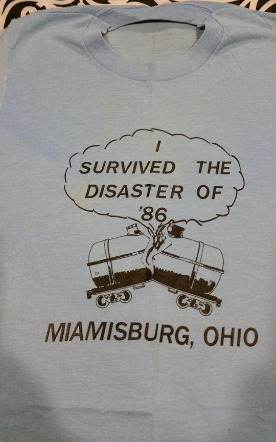 1986 Miamisburg Ohio Train Derailment