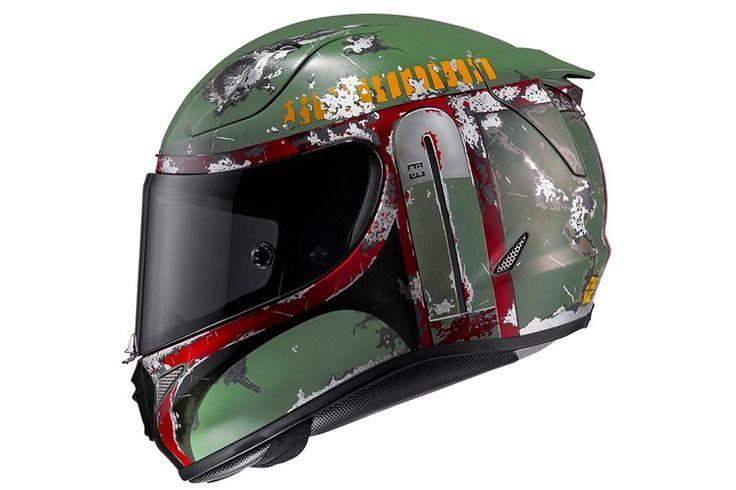 Get Your Head Right - Boba Fett Motorcycle Helmet | Man of Many