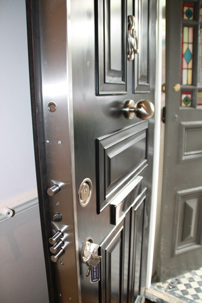 7 Best Images About Steel Door Covered In Luxury Wood On