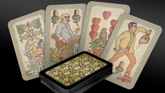 pravé Mafiánské hrací karty