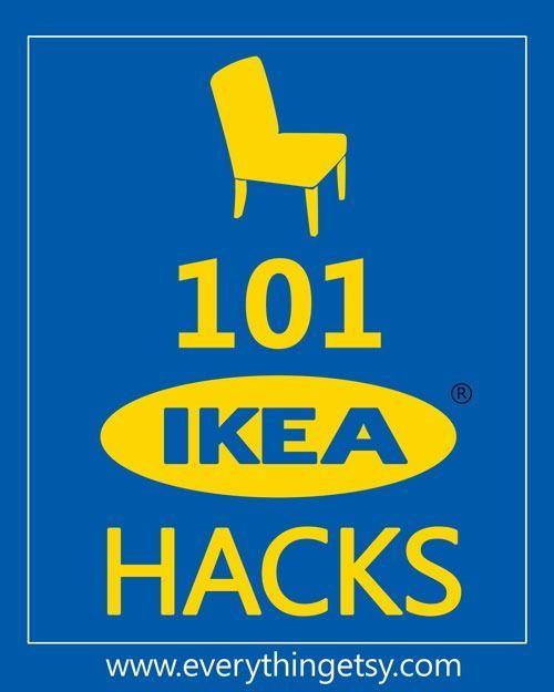 101 IKEA Hacks. I LOVE IKEA! And I love these hacks! Which one do I make first?