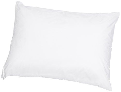 AmazonBasics Hypoallergenic Pillow Protector White Standard