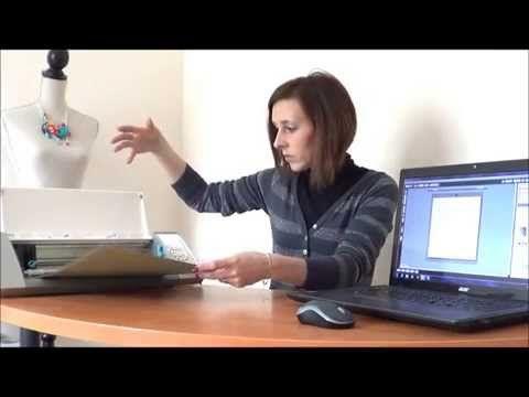 tutoriel silhouette Cameo (en français) : comment couper vos brushes - YouTube