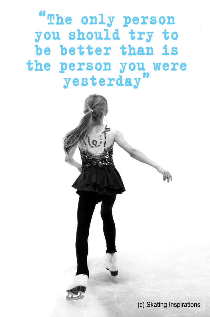 Better Than Yourself Figure Skating Print