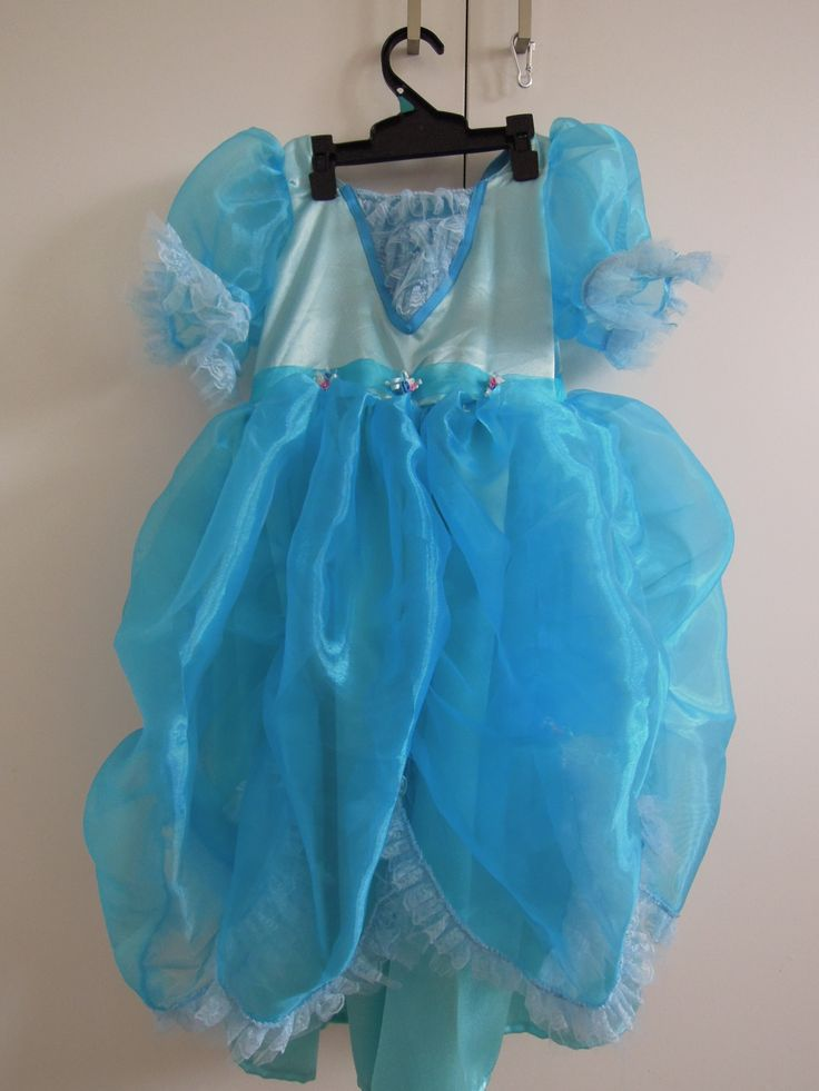 another blue dress for my niece