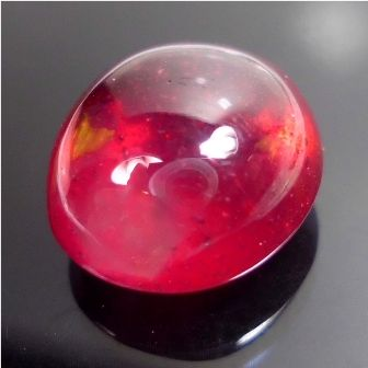 Batu Akik Merah Delima Yang Asli