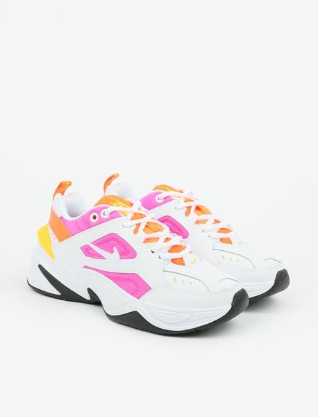 sports shoes 90601 a6005 Nike M2K Tekno - White White-Laser Fuchsia-Hyper Crimson