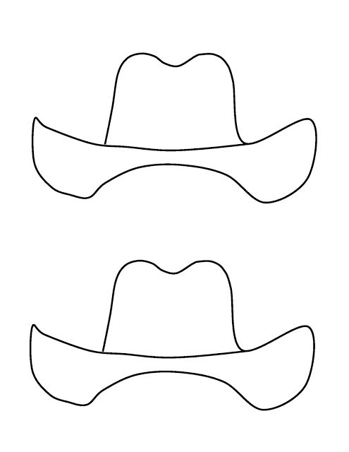 Cowboy Adjectives template for craft that accompanies the writing.