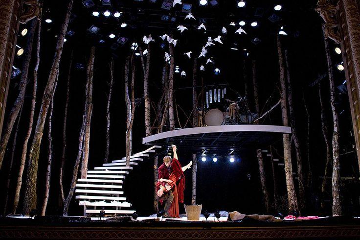 Cinderella. Lyric Theatre Hammersmith. Scenic design by Sophia Clist. Lighting…