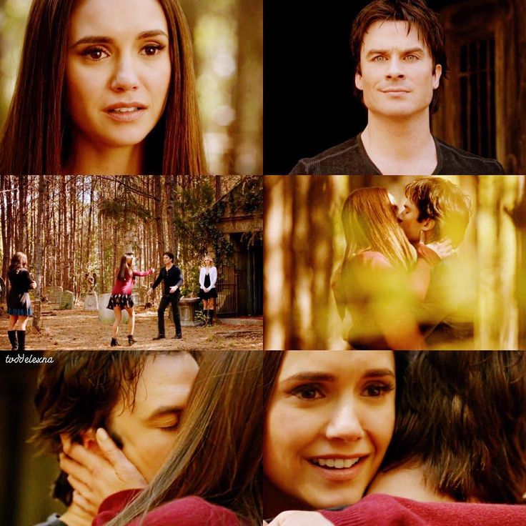 """""""Mi piace"""": 10.1 mila, commenti: 97 - Delena Diaries (@tvddelexna) su Instagram: """"[8x16 """"I Was Feeling Epic""""] They are both humans and this was their first human kiss fuck """""""